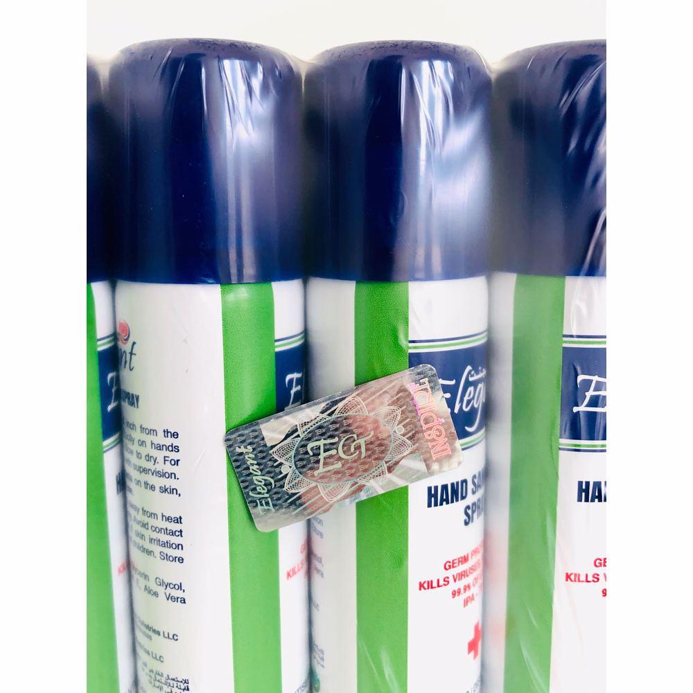 Elegant Hand Sanitizer Spray 60ml