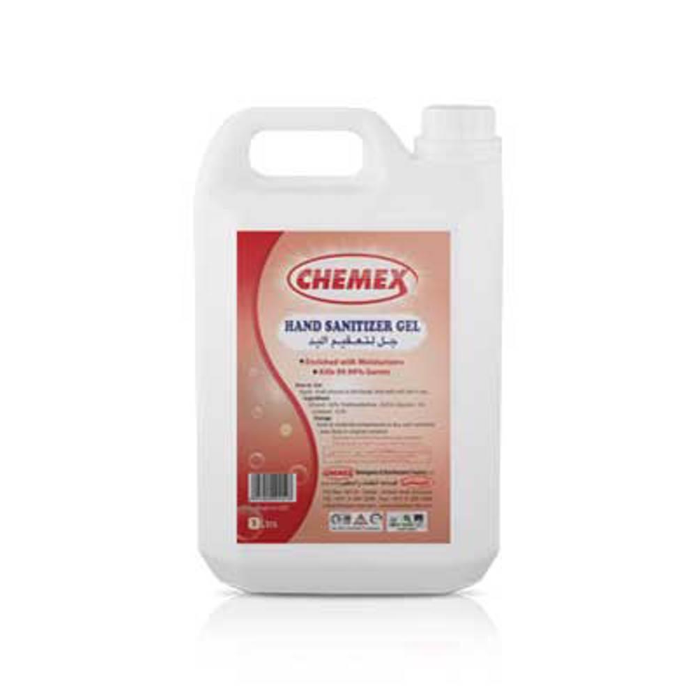 Chemex Hand Sanitizer Gel - 5 Ltr