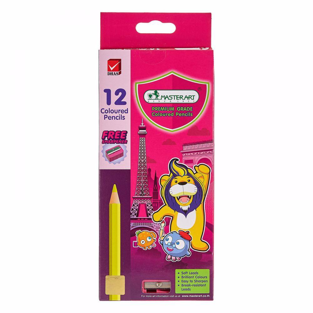 Master Art Color Pencil - Long -1 Set of 12