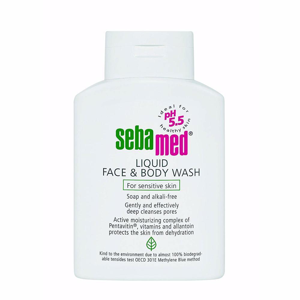 Sebamed Liquid Face & Bodywash 200Ml