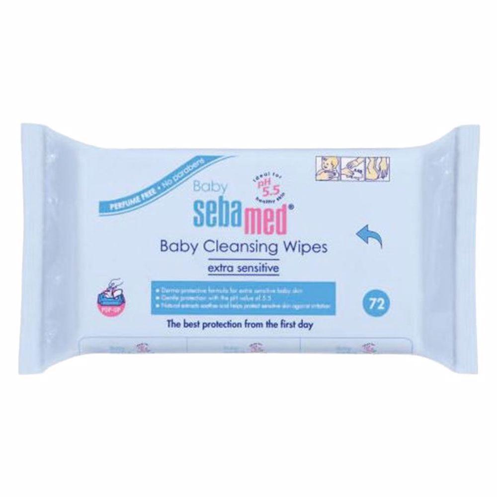 Sebamed Baby Wet Wipes 72S
