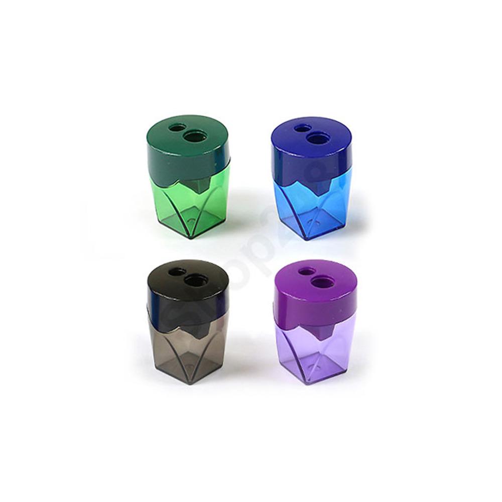 Deli Pencil Sharpener- 2 Hole