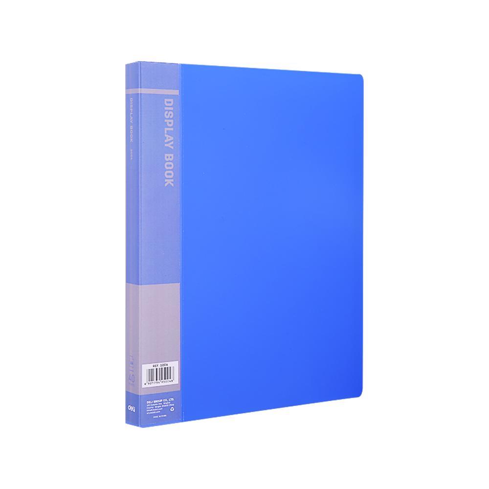 Deli 5001 Display Book(10 pockets)