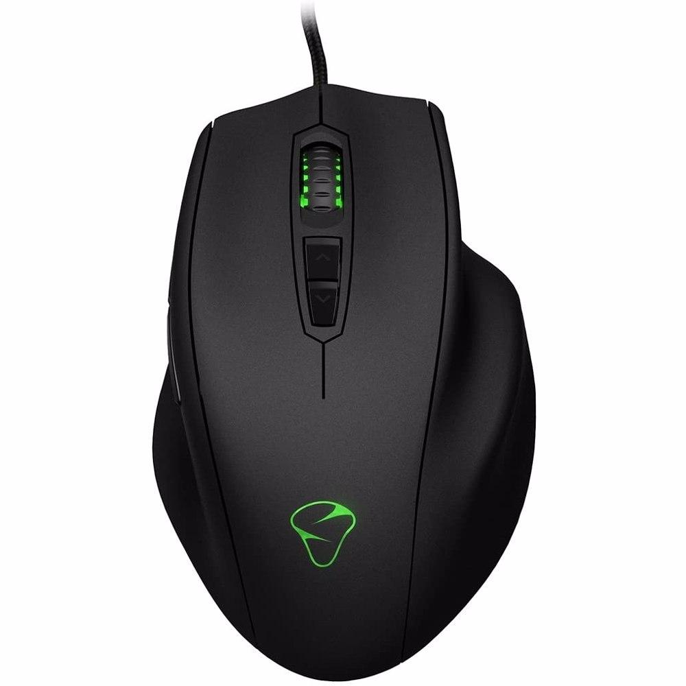 Mionix NAOS 8200 Multi Color Ergonomic Laser Gaming Mouse - Black