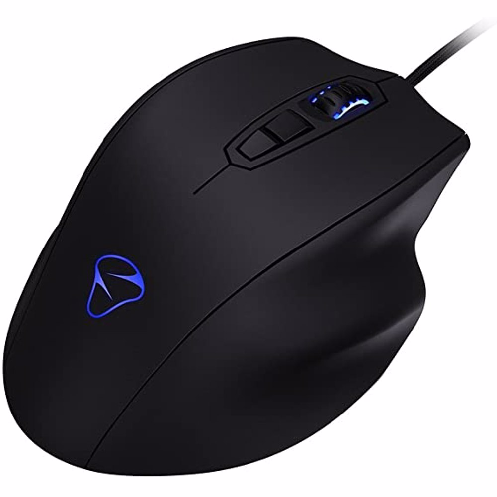 Mionix NAOS 7000 Multi Color Ergonomic Optical Gaming Mouse - Black