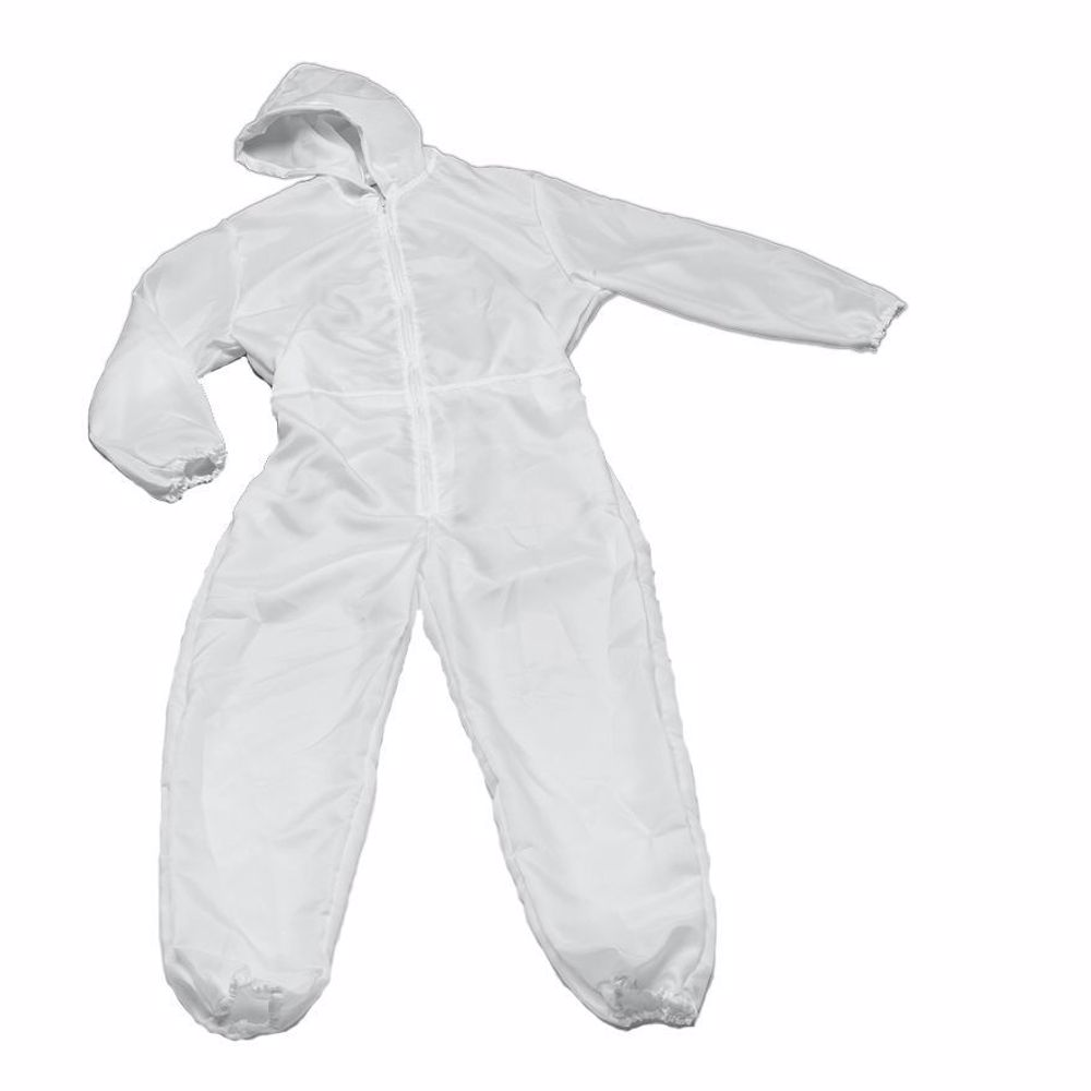 Disposable Coverall with Hood 25GSM - Free Size