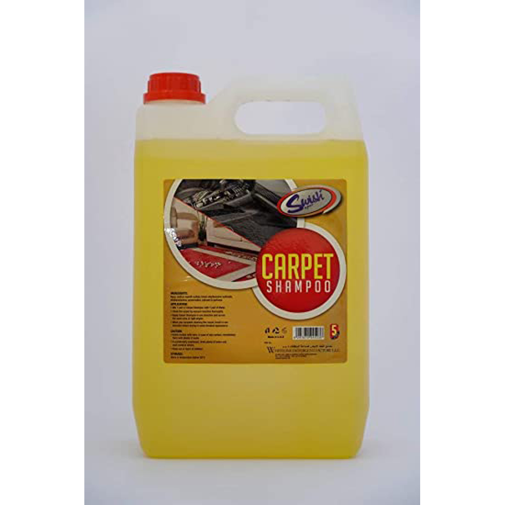 Swish Carpet Shampoo - 4 Pieces of 5L/Carton