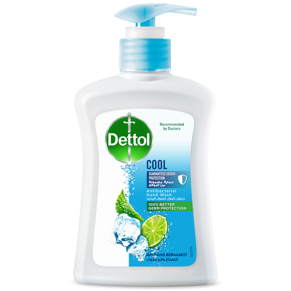 Dettol Cool Anti-Bacterial Liquid Hand Wash 200ml