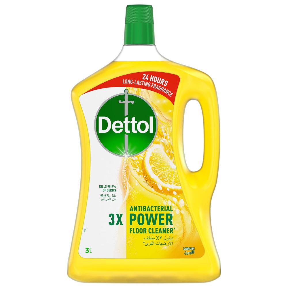 Dettol Lemon Healthy Home All- Purpose Cleaner 3L