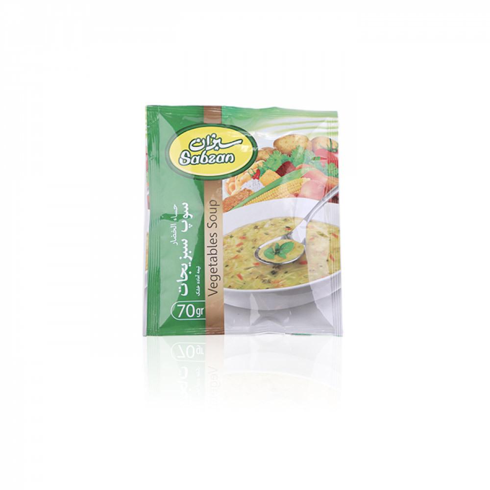 Sabzan Vegetable Soup - 70 Gm
