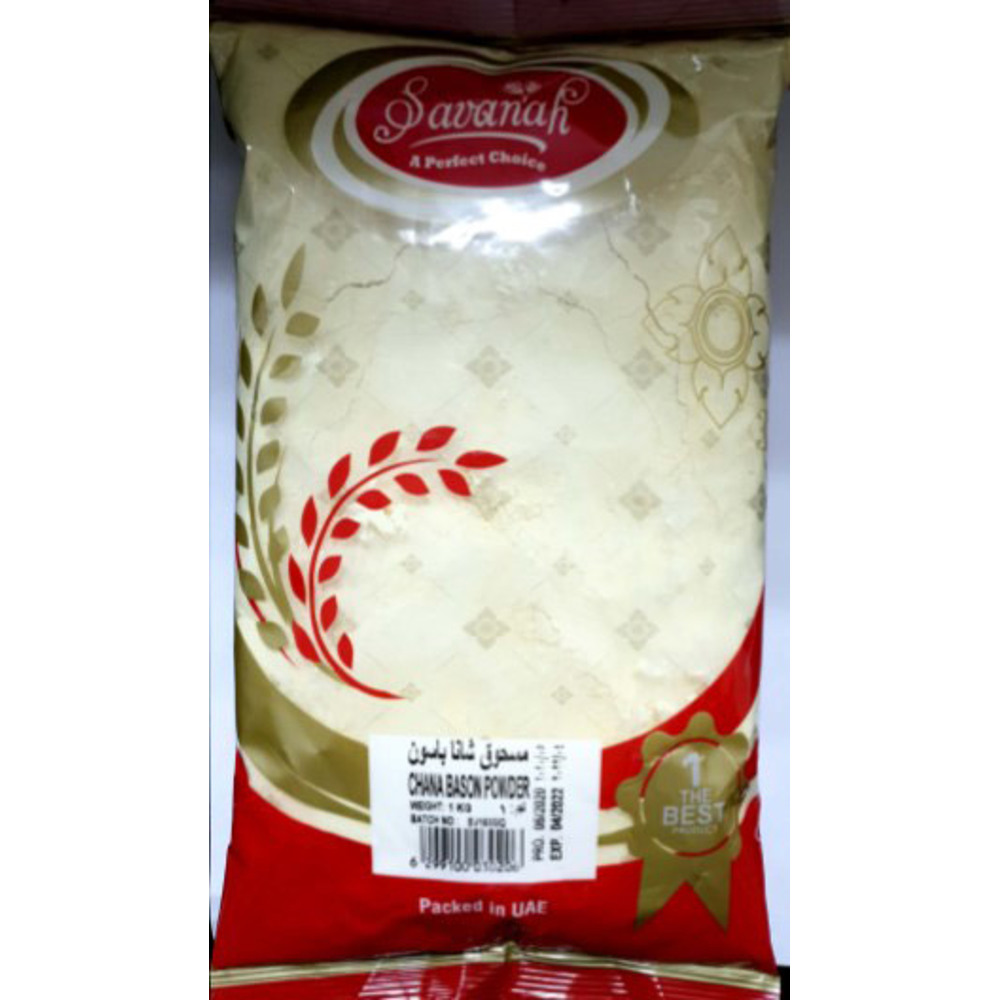 Savanah Chana Bason Powder - 1 Kg