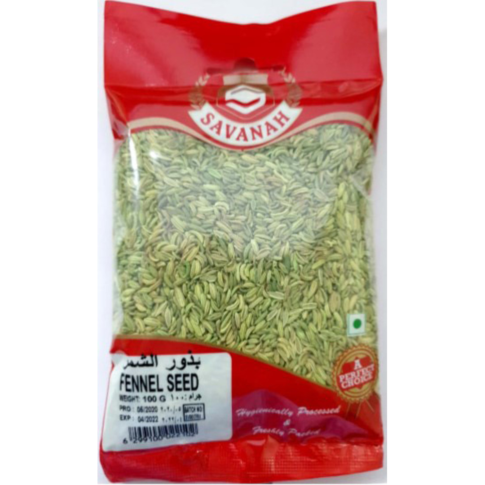 Savanah Fennel Seed Savanh - 100 Gm