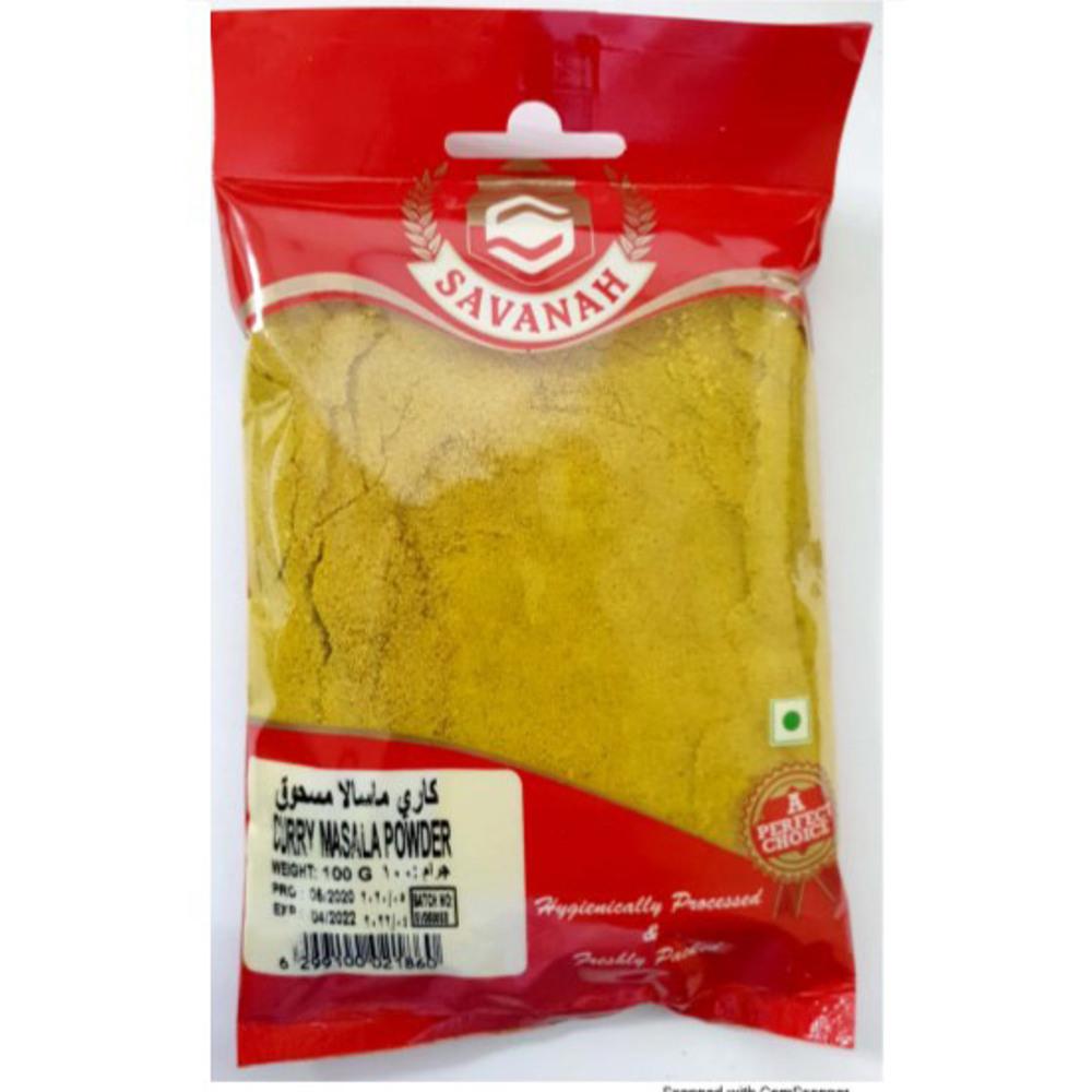 Savanah Curry Masala Powder - 100 Gm