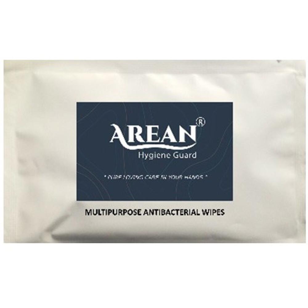 Arean Antibacterial Multipurpose Wipes - Sachets