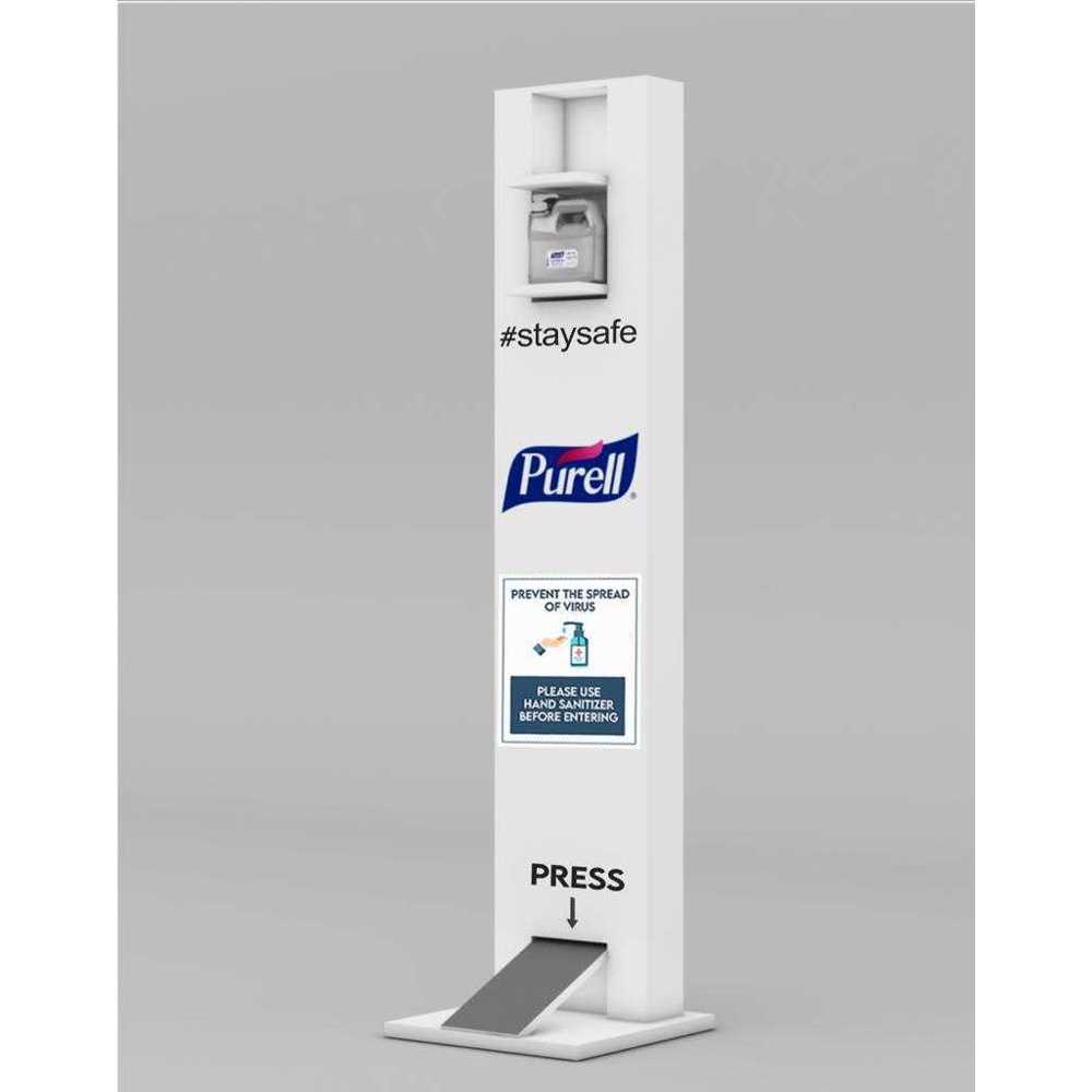 Purell Foot Operated Hand Sanitizer Dispenser
