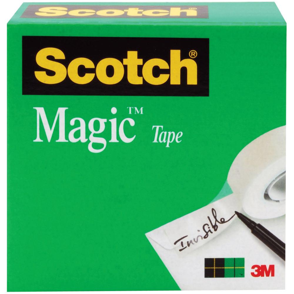 Scotch® Magic™ Tape 810, 3/4 in x 1296 in Boxed -Transparent