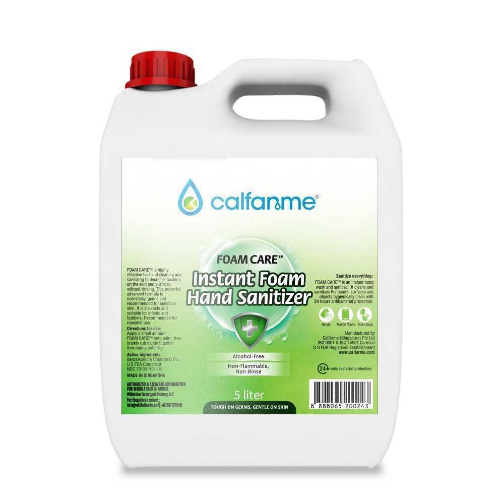 Calfarme Foam Care Instant Foam Hand Sanitizer - 5L