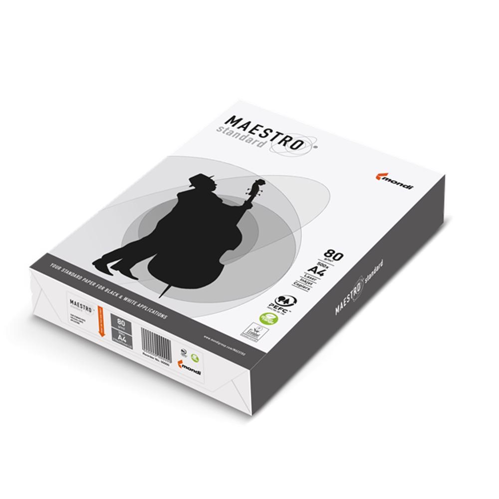 Mondi Maestro Standard Photocopy Paper A4, 80 GSM (5 Reams/Box)