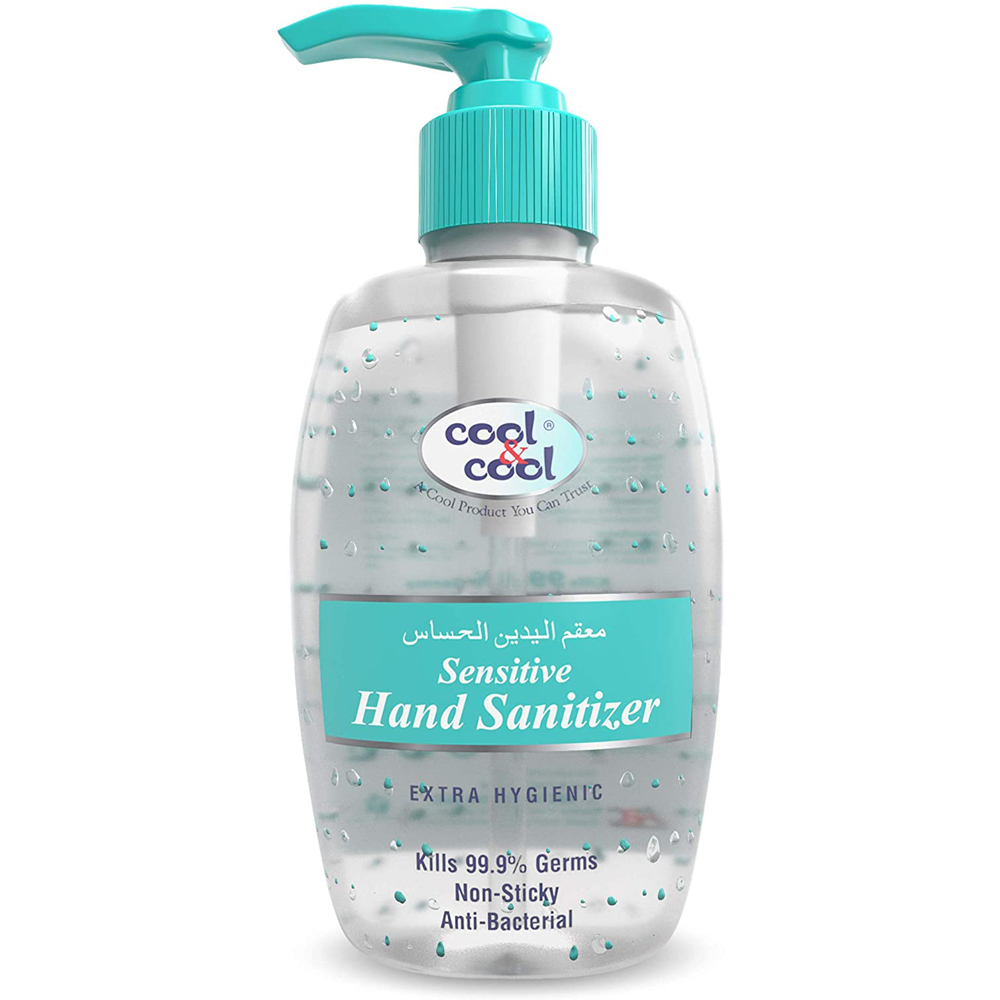 Cool & Cool Sensitive Hand Sanitizer Gel - 250ml