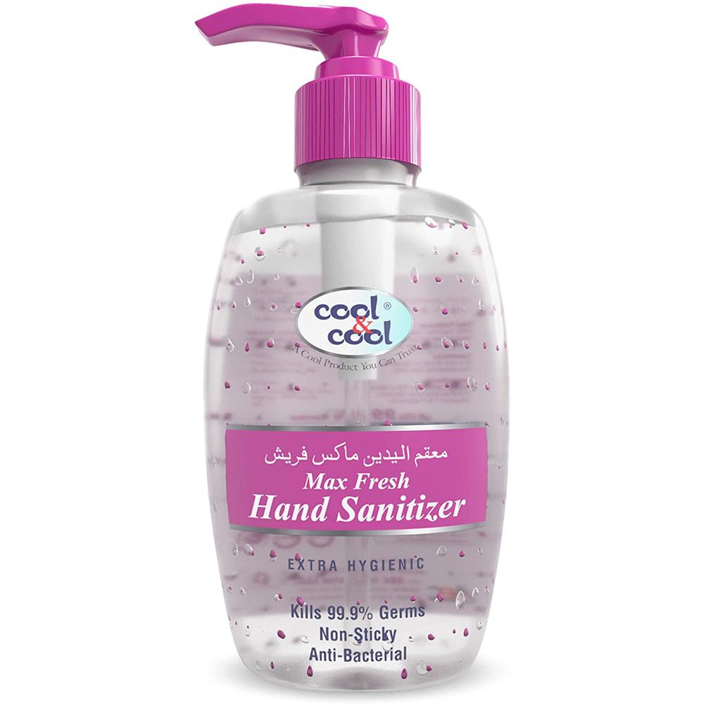 Cool & Cool Max Fresh Hand Sanitizer Gel- 250ml