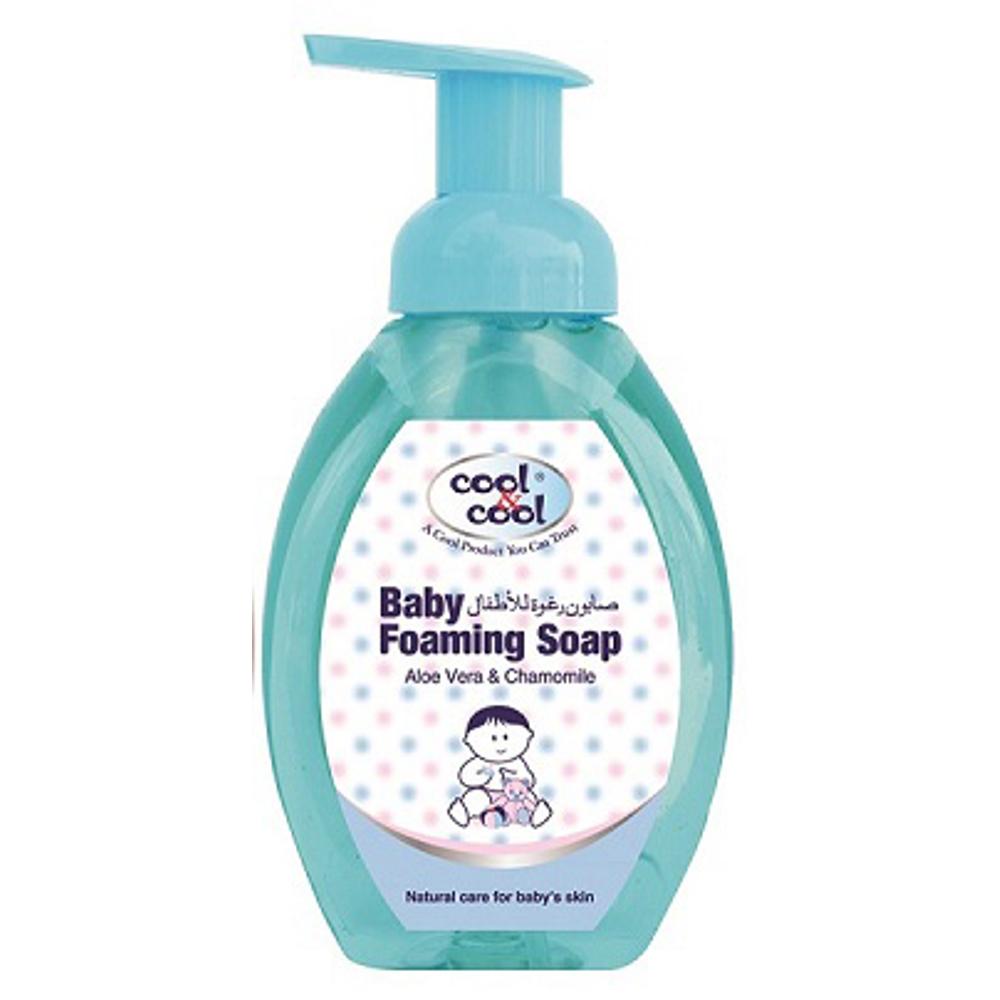 Cool & Cool Baby Foaming Soap - 350ml - Aloe Vera & Chamomile