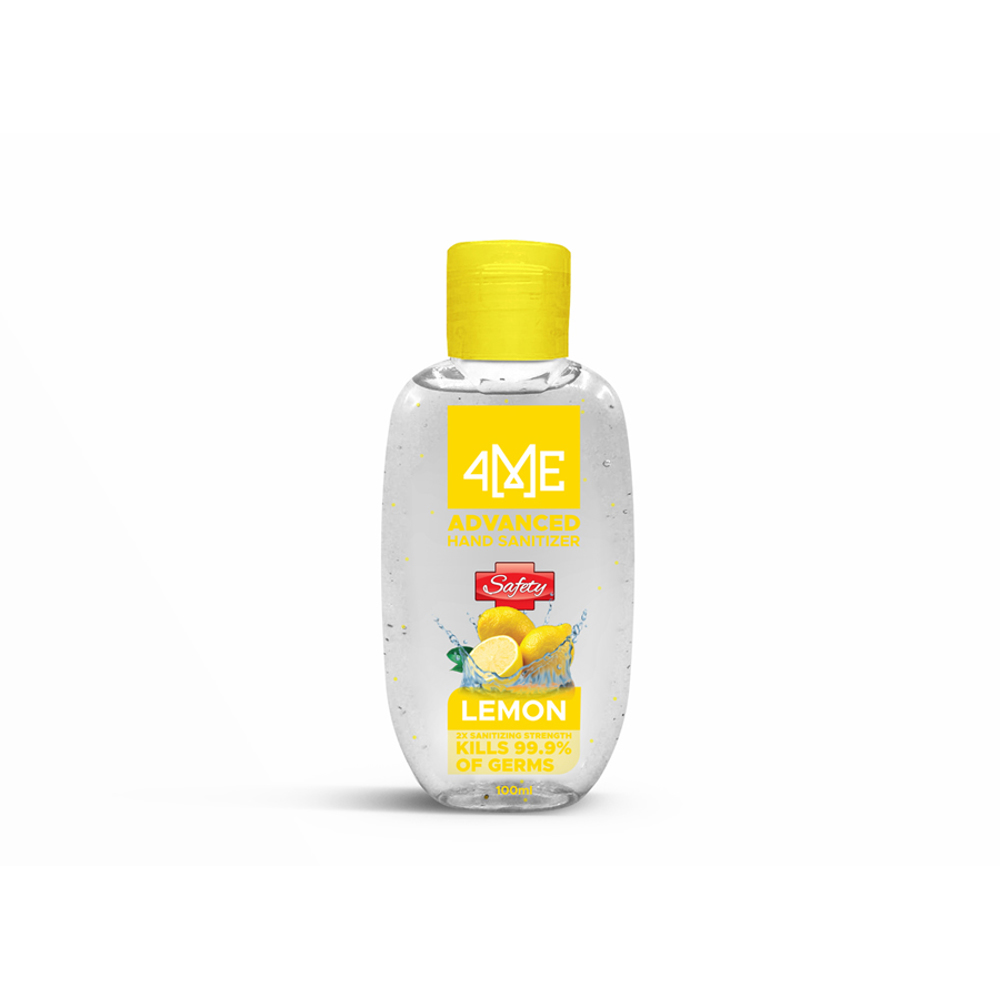 4ME Hand Sanitizer - 100ml (Lemon)