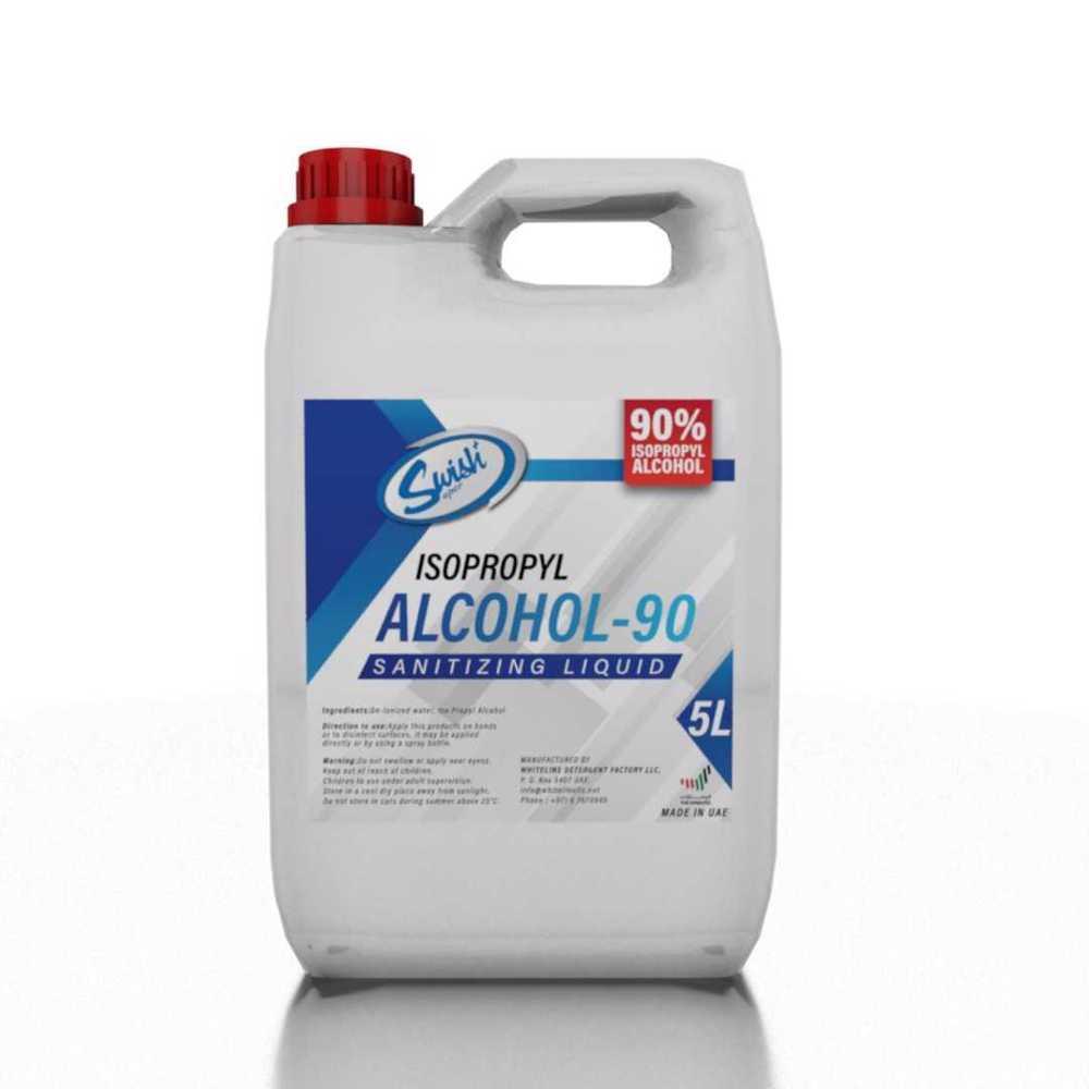 Swish Sanitizing Liquid (Isopropyl Alcohol 90%) 5 Litre