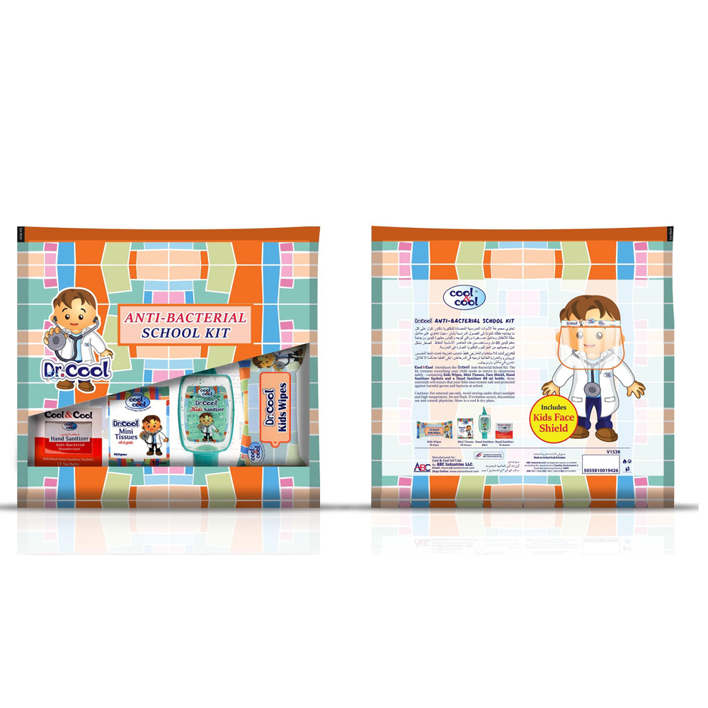 Cool & Cool Anti-Bacterial School Kit