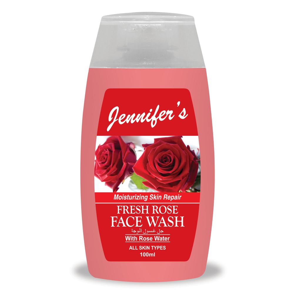 Jennifer's Face Wash Rose - 100ml