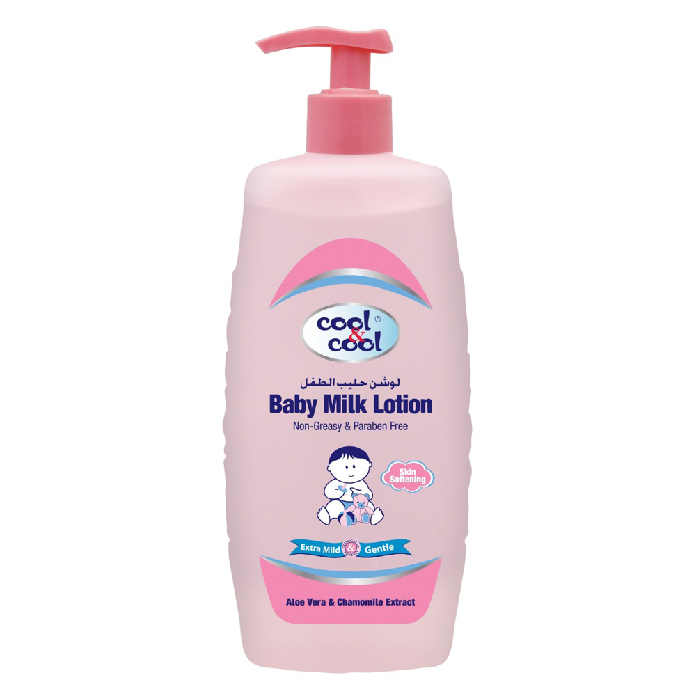 Cool & Cool Baby Milk Lotion-500ml