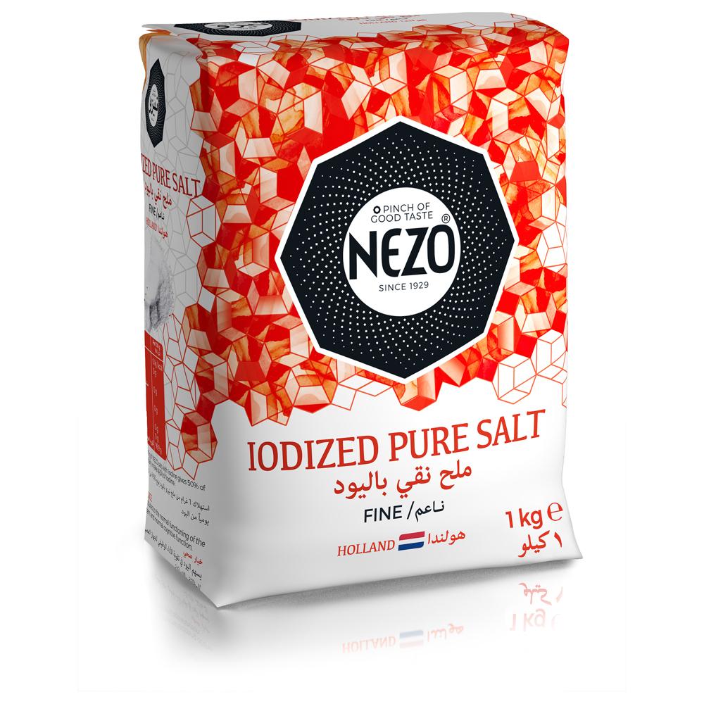 Nezo Fine Iodized Vacuum Salted Red-1kg