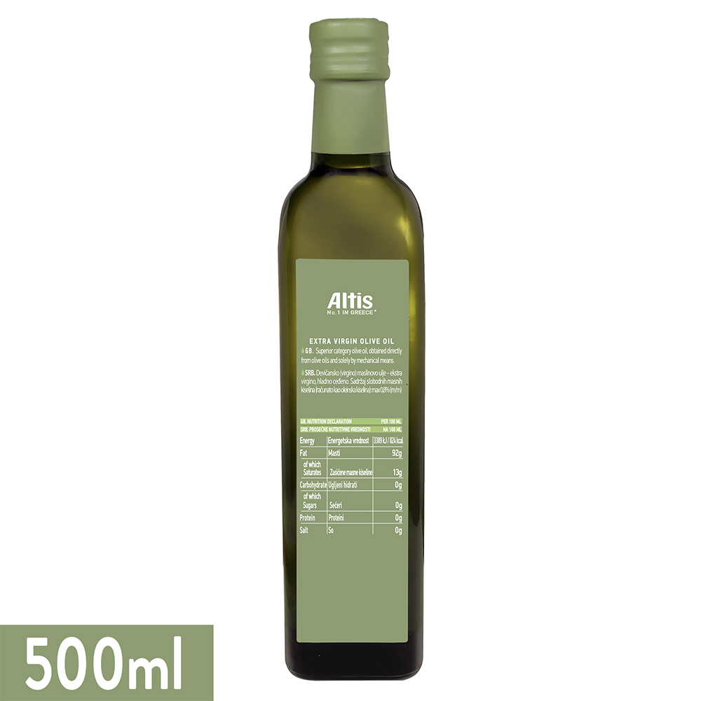 Altis Extra Virgin Olive Oil-500ml-Pack Of 2