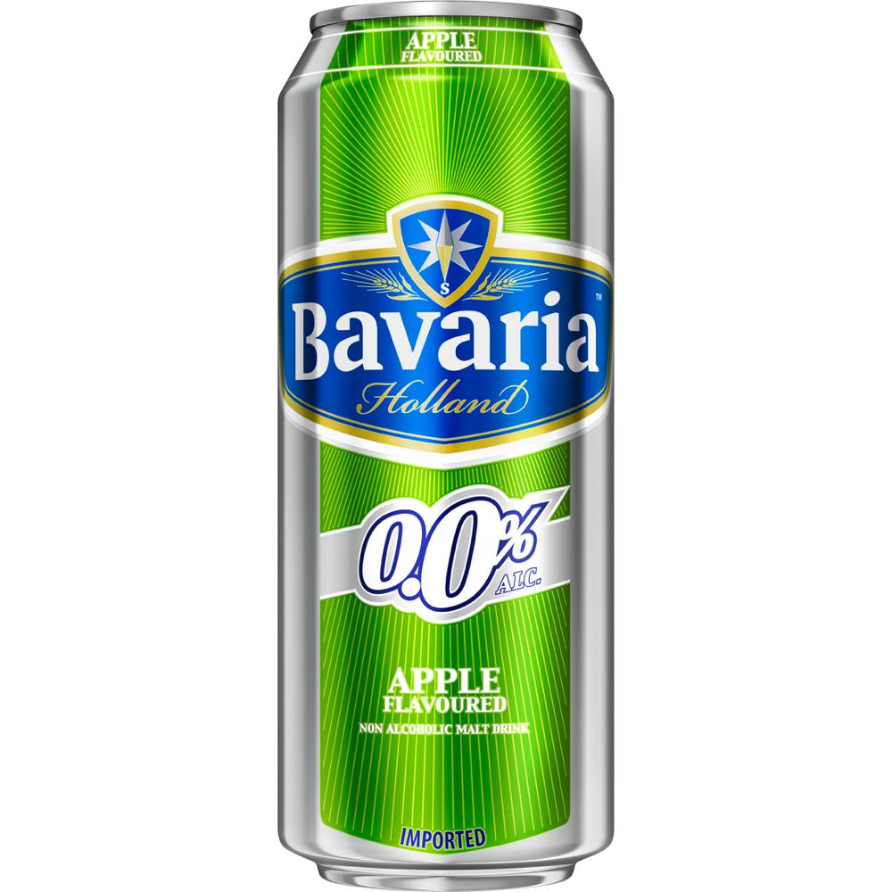 Bavaria Non Alcoholic Malt Drink Apple (Can)-500ml