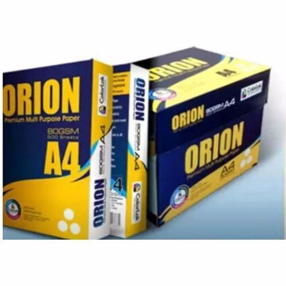 Orion A4 Paper 80Gsm (5 Reams/Box)