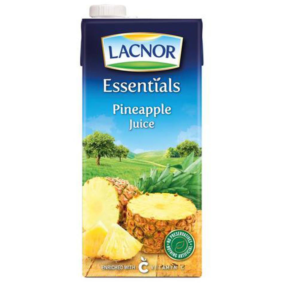 Lacnor Essentials Juice Pineapple-1Ltr