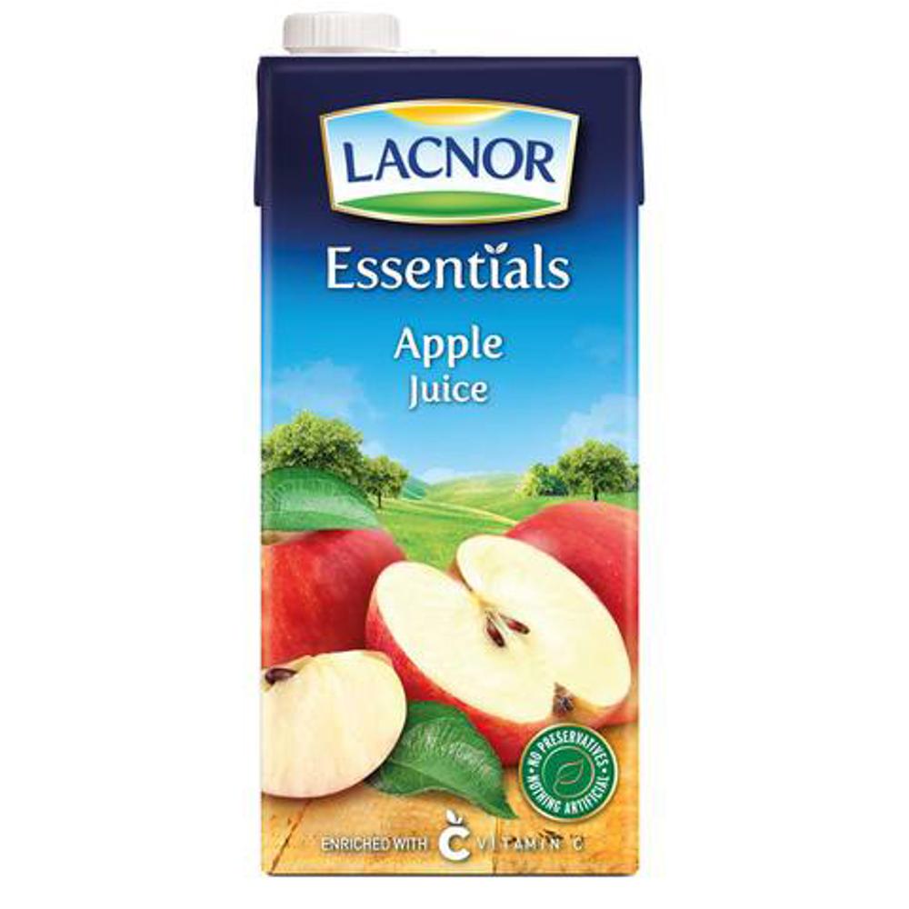 Lacnor Essentials Juice Apple-1Ltr