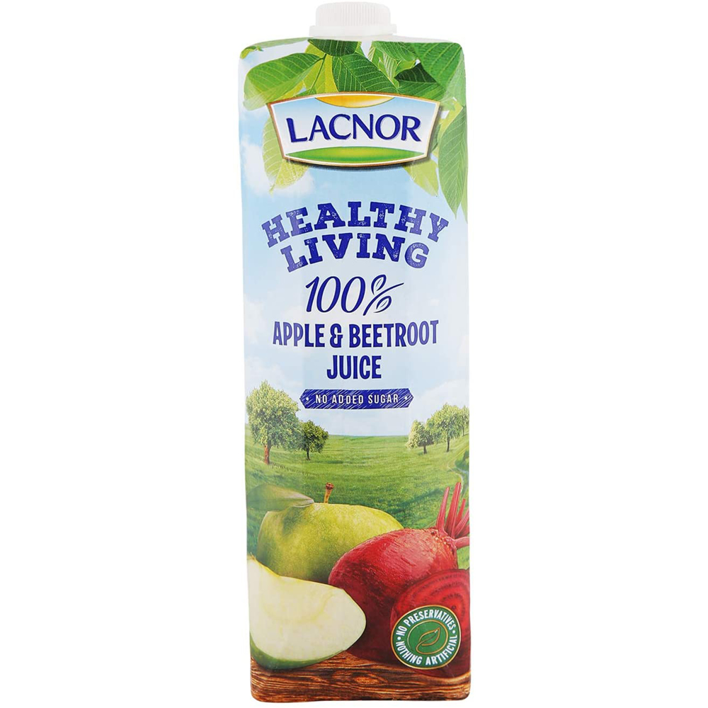 Lacnor Healthy Living Apple Beetroot-1Ltr