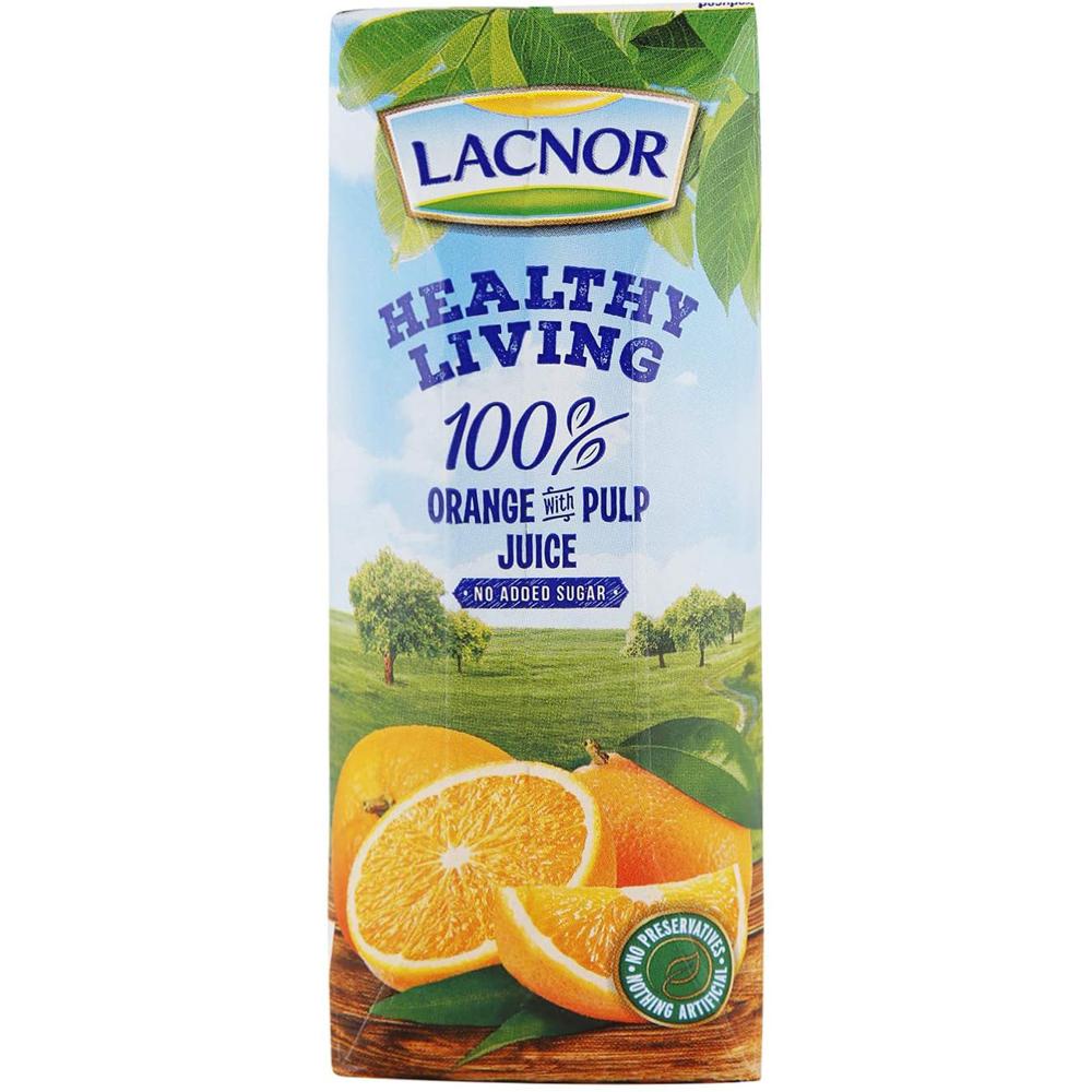 Lacnor Healthy Living Orange Cells-250ml