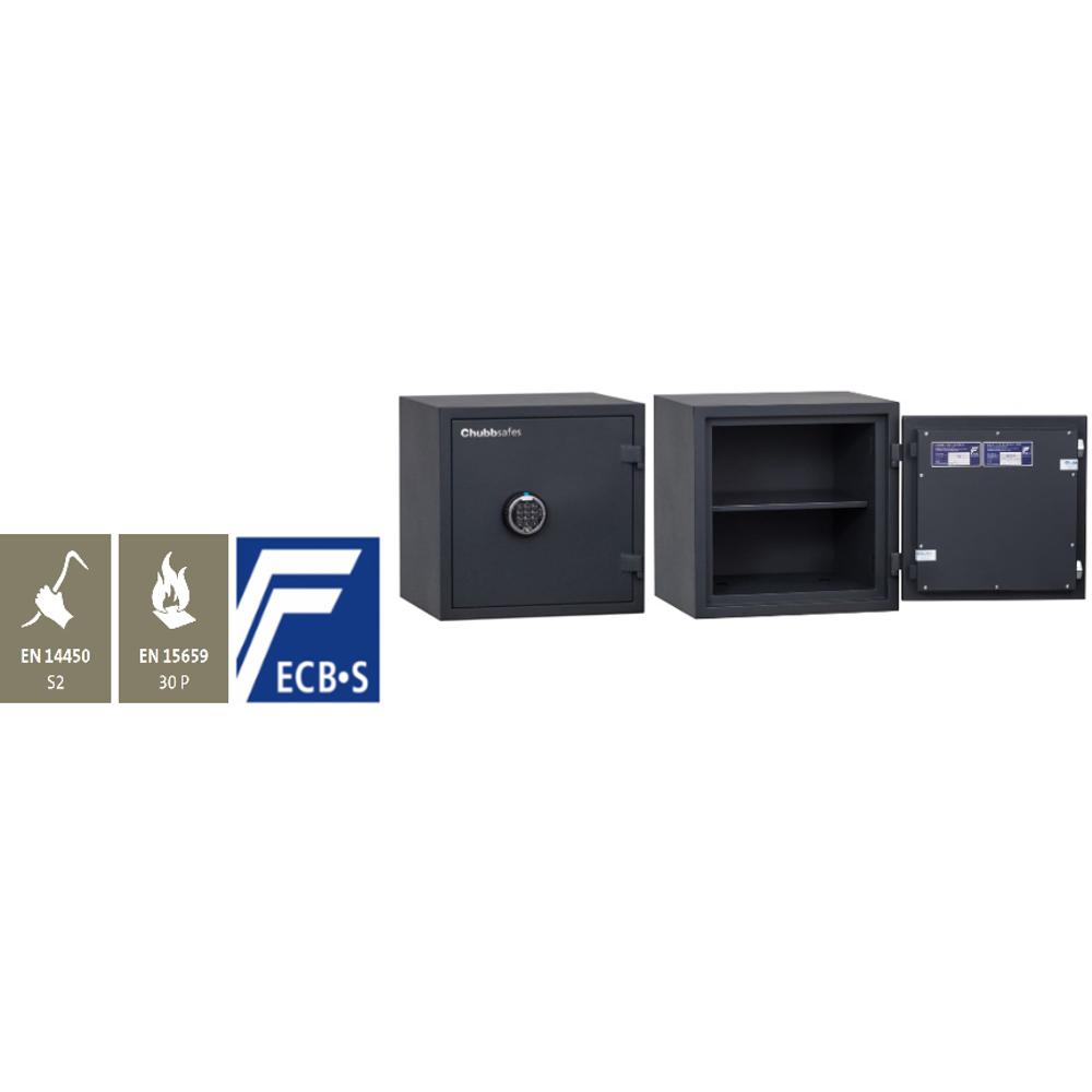 Chubbsafes Home Safe Model 35 Certified Fire & Burglar Resistant Safe-36L