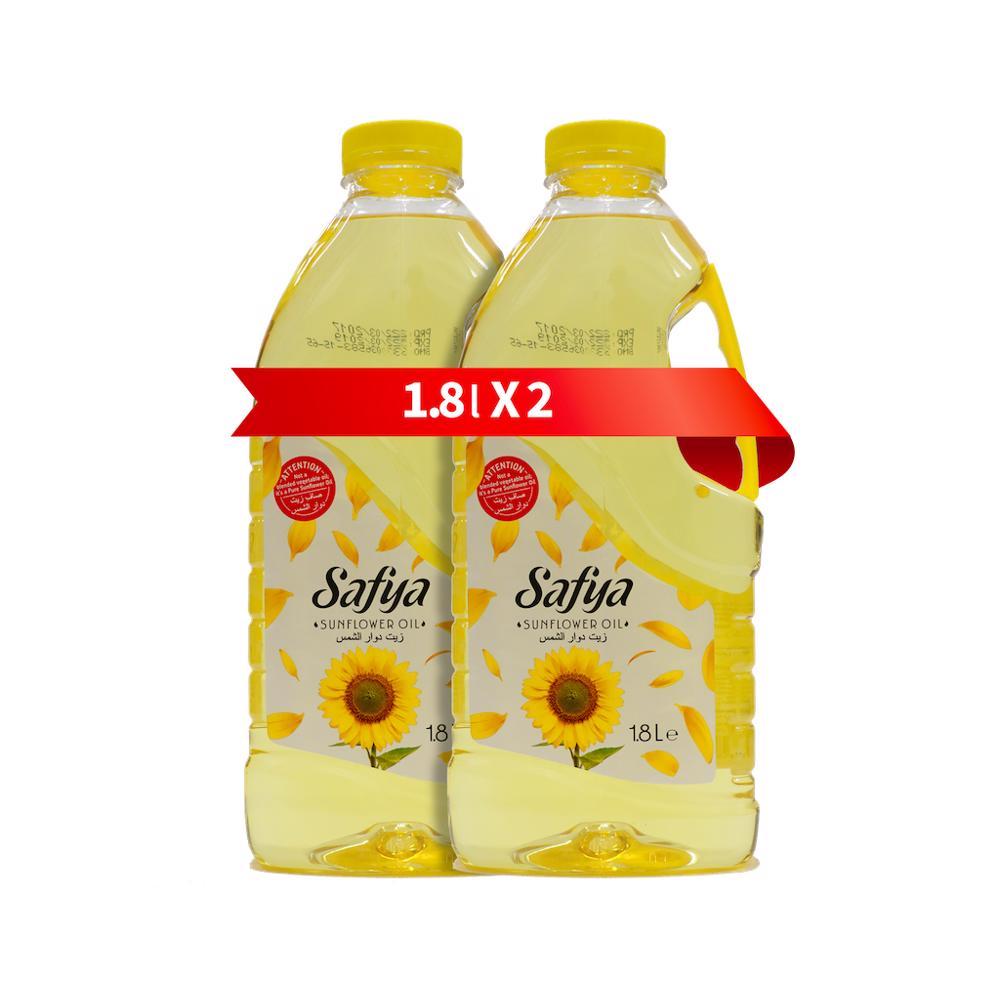Safya Sunflower Oil 1.8 Lt Pack Of 2
