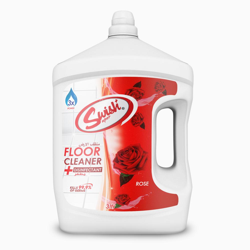Swish Floor Cleaner Rose-3L