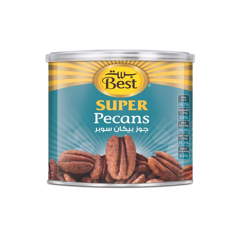Best Super Pecans Halves Can 110gm