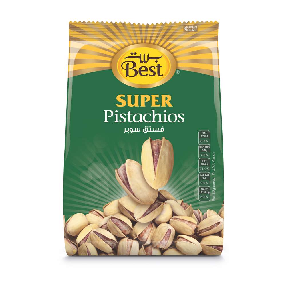 Best Super Pistachios Bag 375gm