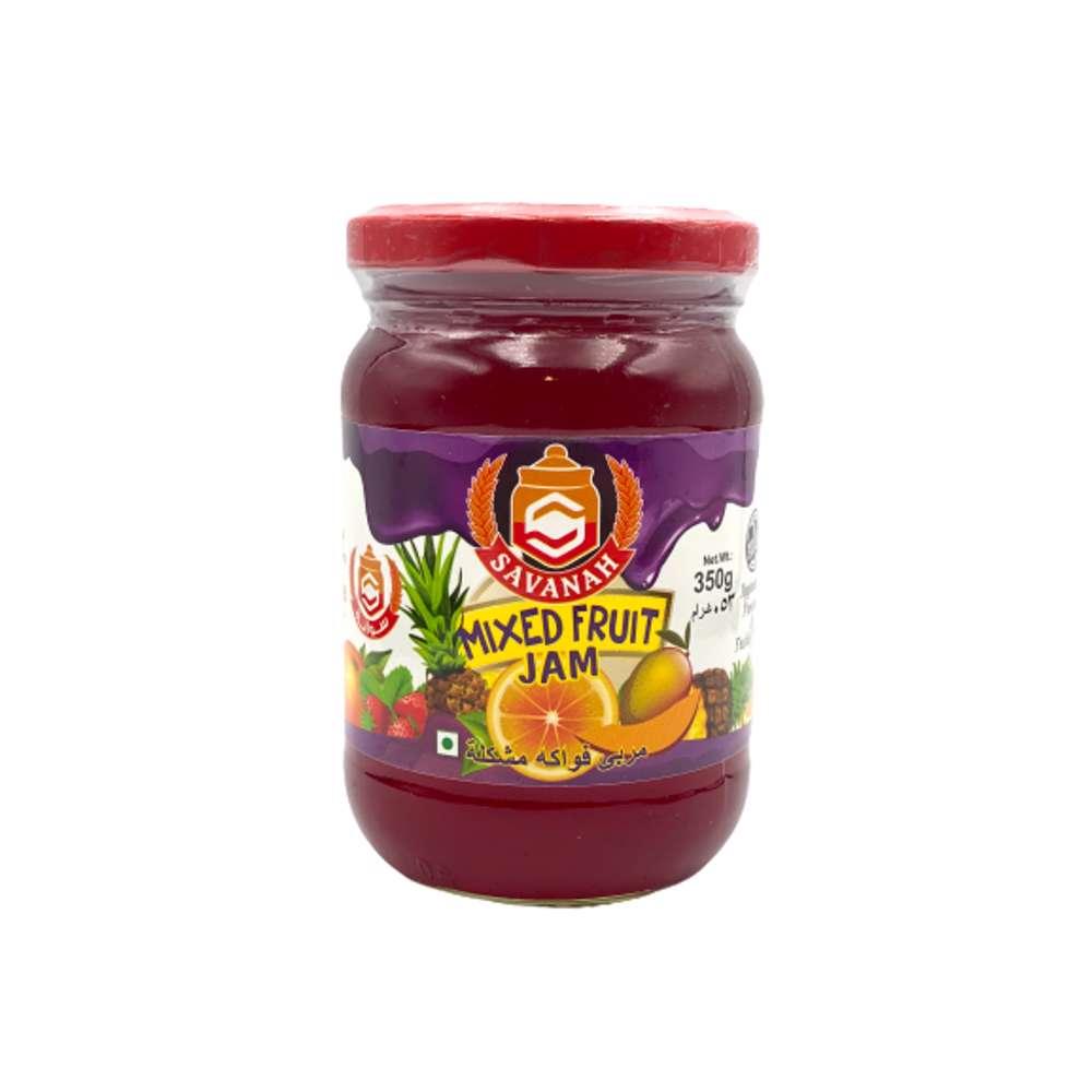Savanah Mix Fruit Jam -350gm
