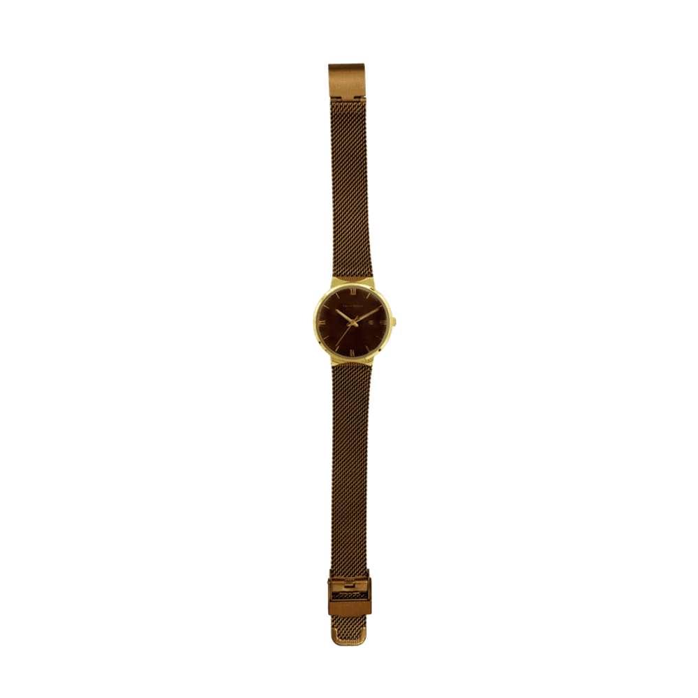 Trend Setter Women''s Coffee Watch - Mesh Band TD2112L-7