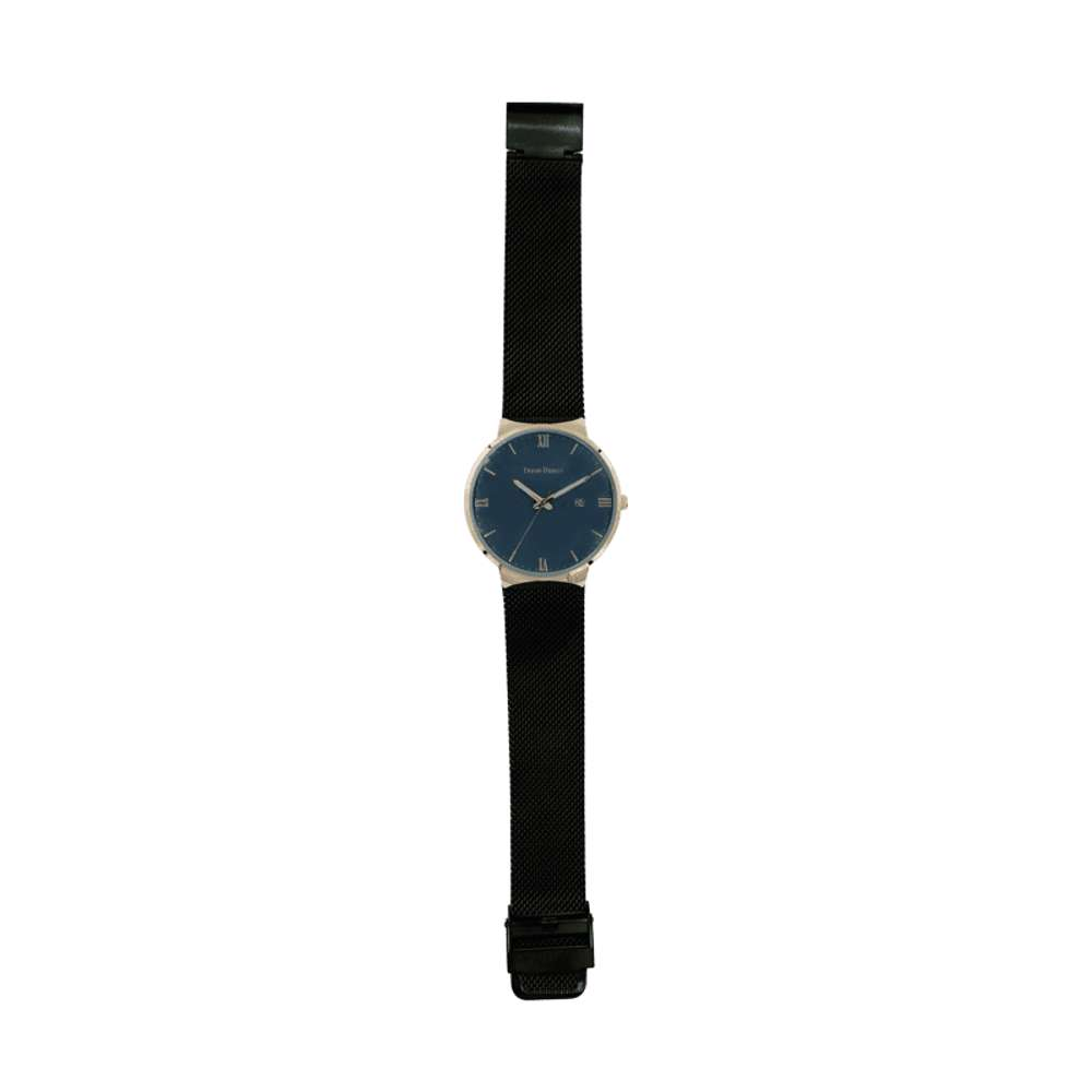 Trend Setter Men''s Black Watch - Mesh Band TD2112M-8