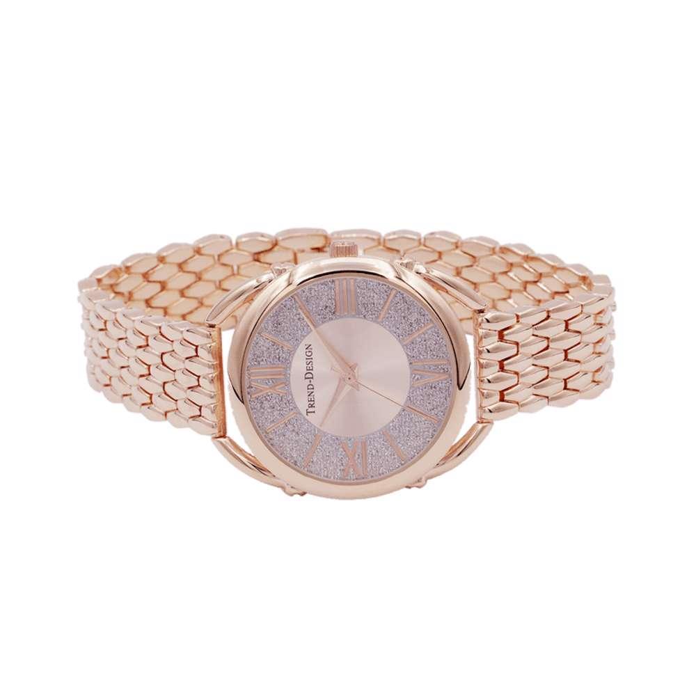 Trend Setter Women''s Rose Gold Watch - Alloy Metal TD3002L-3