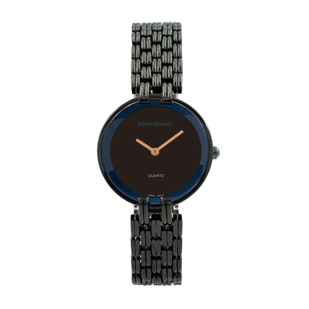 Trend Setter Women''s Black Watch - Alloy Metal TD3101L-9