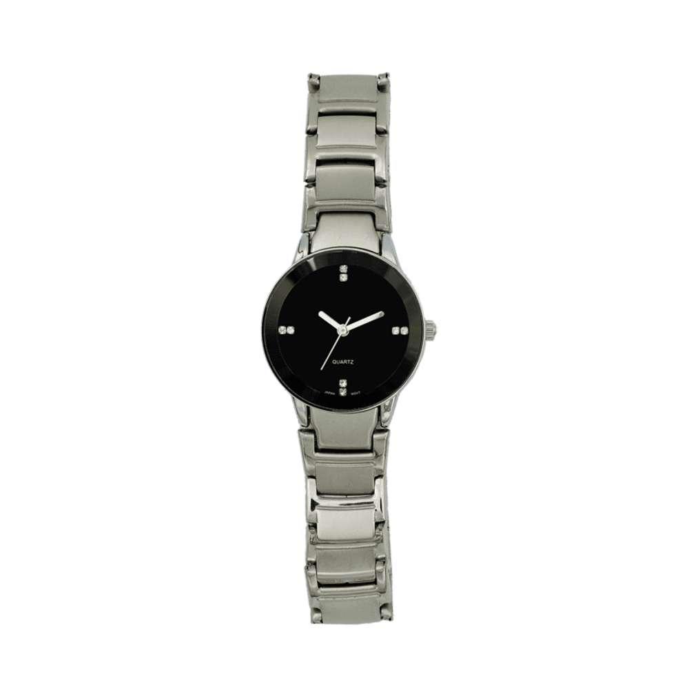Trend Setter Women''s Silver Watch - Alloy Metal TD3102L-6