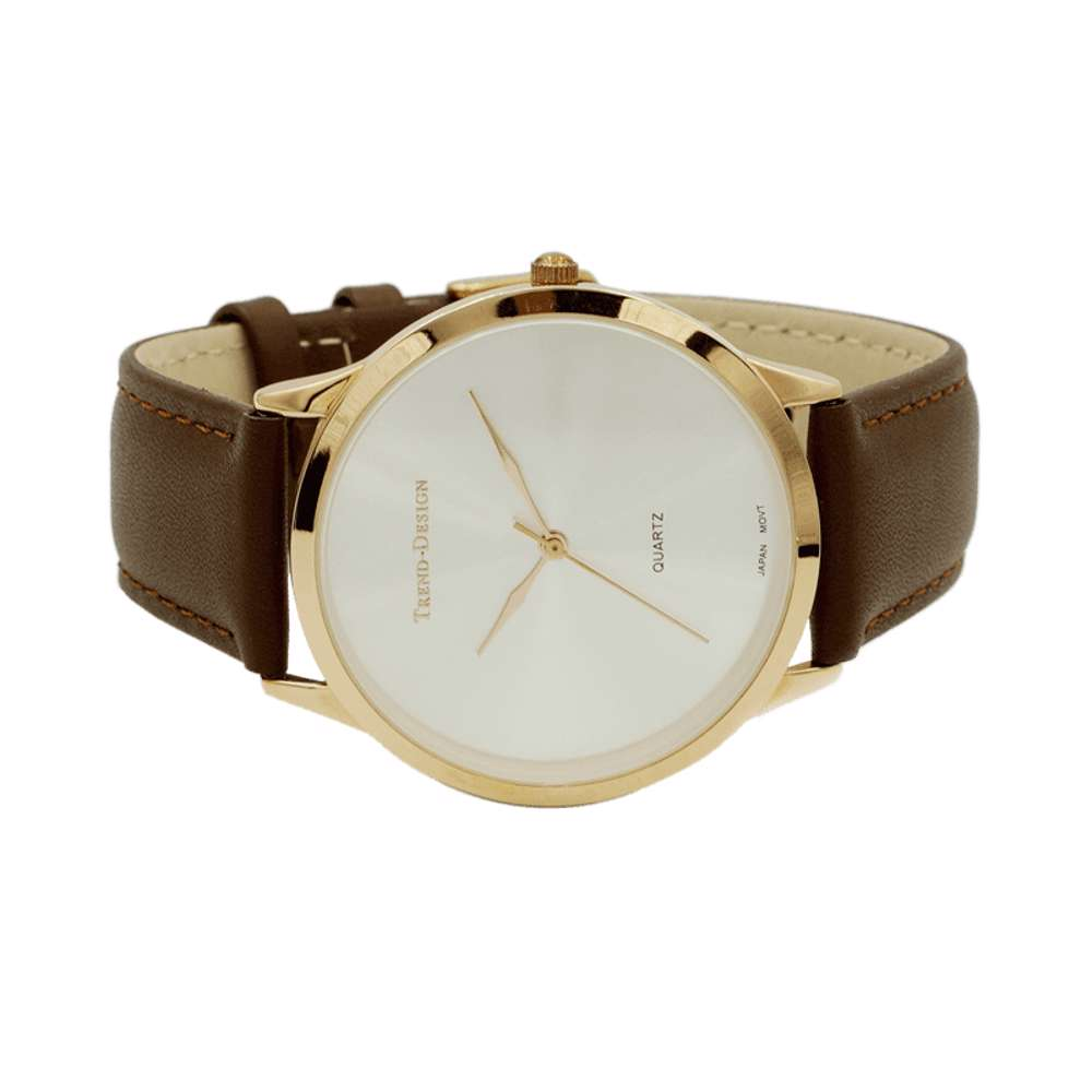 Trend Setter Men''s Brown Watch - Leather Strap TD3103M-3